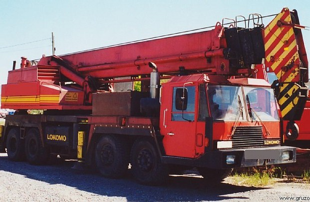 Truck Crane Lokomo A351NS