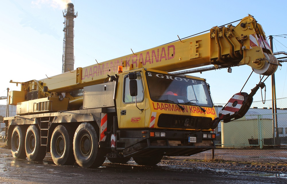 All-Terrain Crane Grove GMK 4070