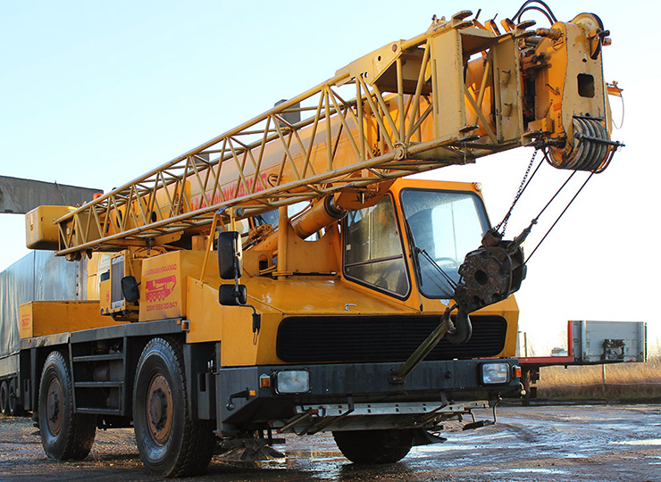 All-Terrain Crane Krupp 2025
