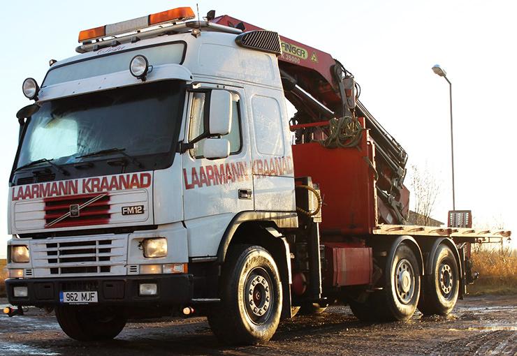 Hydraulic Crane 35000