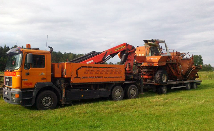 Hydraulic Crane Palfinger 66000